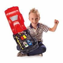 Auto Pista De Carrera Con 2 Autos A Radio Control Para Niños