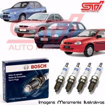 Jogo Vela Bosch Sp43 Corsa 1.6 8v Gasolina 92cv 95-06