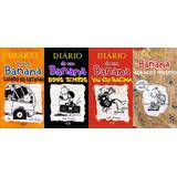 Diario De Um Banana Do Volume 9 Ao 11 + Faça Você Mesmo