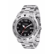 Relógio Lince Masculino (orient) Aço Calendário Mrm4335l /