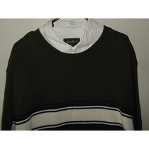 Sweater St Johns Bay Verde Nuevo Fashion Algodón T Xl