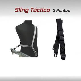 Porta Fusil Sling Correa Tactico Militar Rifle Riel Gotcha