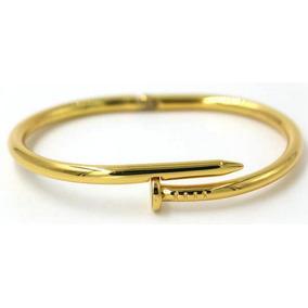 Pulseira Bracelete Modelo Prego Juste Un Clou
