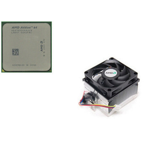 Processador Amd Am2 Athlon 64 3800 + Am2 + Cooler Novo