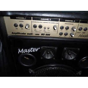 Caixa Amplificador Cubo Multiuso Master 600 No Estado