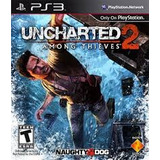 Uncharted 2: Among Thieves Ps3 Lacrado Novo Original