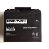Bateria Selada 12v 18ah Csp Power Vrla Para Nobreak Sms