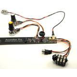 Captação Eletrificação Pra Sanfona Profissional Hmx 16 Black