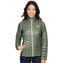 Chamarra Para Dama The North Face Verde Laurel Thermoball