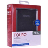 Disco Rigido Externo Touro 500gb By Wd Usb 3.0 - Chaco