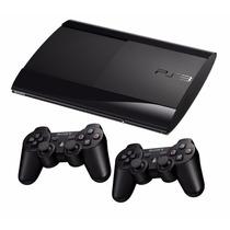 Playstation 3 Super Slim + 2 Controles + Kit Psmove + Jogos
