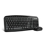 Vorago Kit Teclado Mouse Inalambrico Multimedia Km-303 Negro