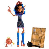 Boneca Menina Monster High Aula De Arte Monstros Rebecca