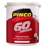 Pintura Pinco Satinada(brillo De Seda) Lavable Blanco