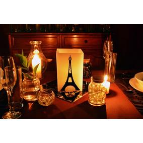 Pantalla Temática De Torre Eiffel Para Xv Años Aluzza.