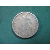 Moneda 2 1/2 Escudos 1967, Portugal Km# 590