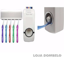 1 Dispenser Automático Pasta De Dente + 1 Bare Lifts Adesivo