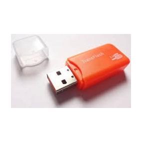 Leitor Adaptador Usb Cartão Micro Sd Sandisk Kingstone Hp