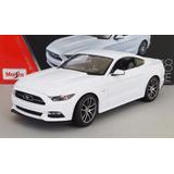 Ford Mustang Gt 2015 Escala 1:18 Maisto Exclusive