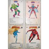 Mazo Cartas Cromy Juego Naipes Repuestos Super Heroes Amigos