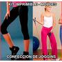 Moldes Pantalones Jogging - Leggins Gym- Todos Los Talles
