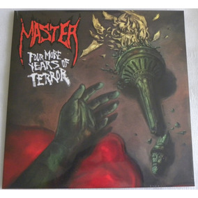 Master Four More Years Of Terror Lp + Compacto Bonus Selado
