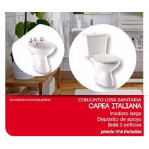 Capea Combo Completo Inodoro+bidet+depósito+asiento