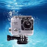Câmera Filmadora Sport Stand Prova Dagua Mini Dv Hd 720p