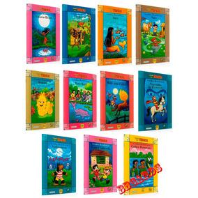Livros Turma Da Mônica Kit Da Coleção Lendas Brasileiras