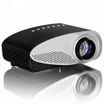 Mini Proyector Led Gp8s 300 Lumens Tv Hdmi Envio Gratis