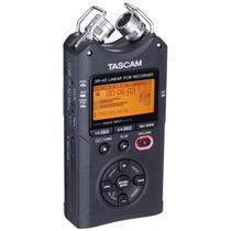 Gravador Audio Mão Profissional Dr40 4ch Tascan