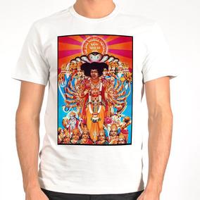 Camiseta Rock - Jimi Hendrix, The Who, Janis Joplin, Blues
