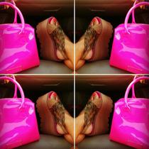 --día De Los Enamorados! Zapato Zueco Sandalia Plataforma---