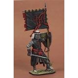 Figura De Plomo De 1/54 - Caballero Medieval - Sin Pintar