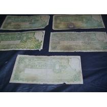 Lote De 5 Billetes Argentina 10 Pesos 1935 Moneda Nacional