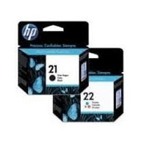Kit De Cartuchos Hp 21 E 22 Originais Lacrado Na Caixa