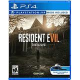 Juegos Vr - Resident Evil 7 Biohazard (ps4)