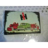 Caja De Fosforos Publicidad H I.tractores,maquinas,camiones