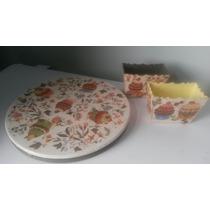 Plato Giratorio + Porta Cookies! Imperdible