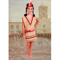 Disfraz De India Talles 1 Al 3
