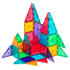Imanes Para Armar Bfun Magnets 20 Pzs No Lego Didácticos *