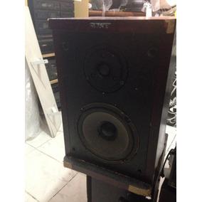Caixa De Som Acústica Sony Ss-s300bs 28watts Rms Madeira
