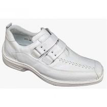 Sapato Branco Super Luxo,medicos E Seguimentos Promoção 2014