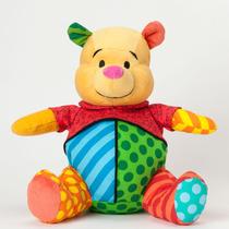Romero Britto Ursinho Pooh Disney Plush Pelúcia Novo Origina