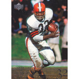 2001 Upper Deck Legends Jim Brown Rb Browns