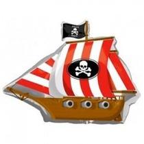 Globos Metalizados Barco Pirata(24 Pulgadas)