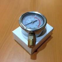 Manometro Indicador De Presion Con Glicerina 0-200 Psi 2 Pgd