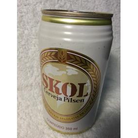 Lata Cerveja Cheia Ano 1996: Skol 350ml - Frete Grátis