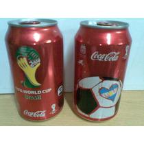 Coca.cola Lata Vacia Sin Abrir - Mundial 2014