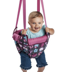 Evenflo Jenny Jump Up Jumper Portal, Pink Bumbly